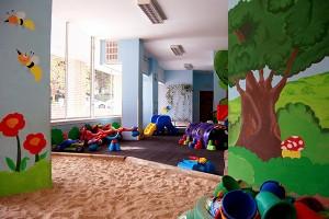 Escuela infantil Peques patio