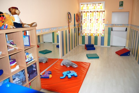 Escuela Peques- sala de psicomotricidad