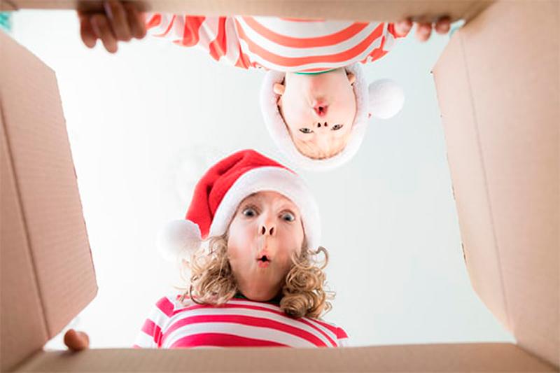 comprar los regalos de Navidad a los peques