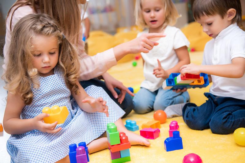 escuela infantil en la edad más temprana