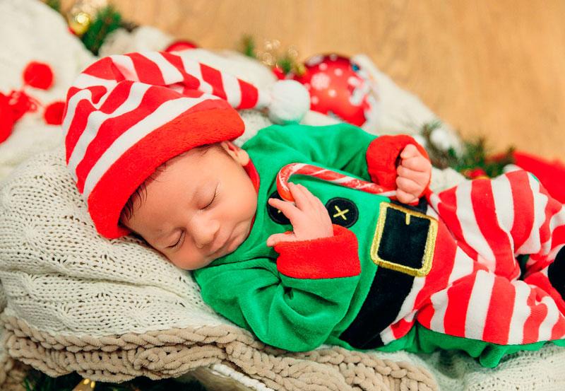 primera Navidad del bebé
